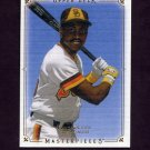 2008 UD Masterpieces Baseball #75 Tony Gwynn - San Diego Padres