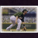 2008 UD Masterpieces Baseball #67 Eric Chavez - Oakland A's