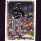2008 UD Masterpieces Baseball #57 Pedro Martinez - New York Mets