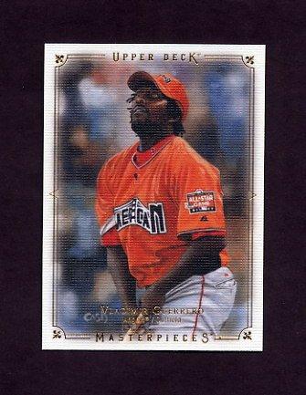 2008 UD Masterpieces Baseball #41 Vladimir Guerrero - Los Angeles Angels