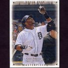 2008 UD Masterpieces Baseball #34 Gary Sheffield - Detroit Tigers