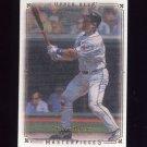2008 UD Masterpieces Baseball #28 Travis Hafner - Cleveland Indians