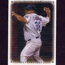 2008 UD Masterpieces Baseball #20 Carlos Zambrano - Chicago Cubs