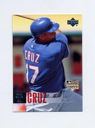 2006 Upper Deck Baseball #1199 Nelson Cruz - Texas Rangers