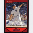 2007 Bowman Baseball #109 Mike Mussina - New York Yankees