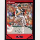 2007 Bowman Baseball #078 Scott Kazmir - Tampa Bay Devil Rays