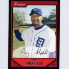 2007 Bowman Baseball #070 Gary Sheffield - Detroit Tigers