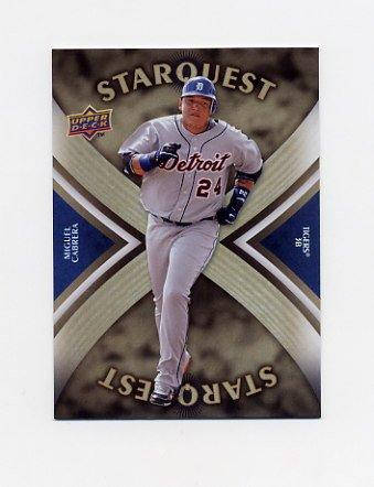 2008 Upper Deck Baseball Star Quest Ultra Rare #53 Miguel Cabrera - Detroit Tigers