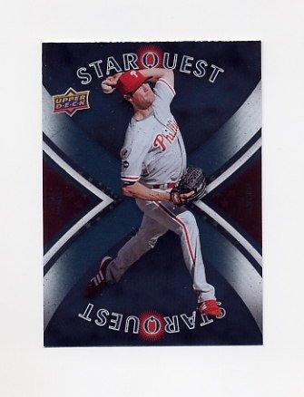 2008 Upper Deck Baseball Star Quest #38 Cole Hamels - Philadelphia Phillies