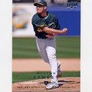 2008 Upper Deck Baseball #753 Huston Street / Oakland A's Team Checklist