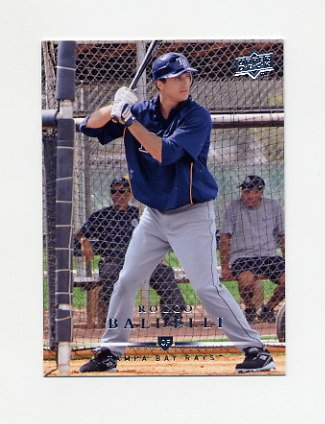 2008 Upper Deck Baseball #667 Rocco Baldelli - Tampa Bay Rays