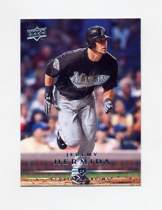 2008 Upper Deck Baseball #503 Jeremy Hermida - Florida Marlins