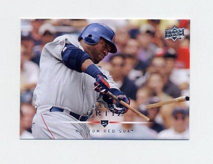 2008 Upper Deck Baseball #434 David Ortiz - Boston Red Sox