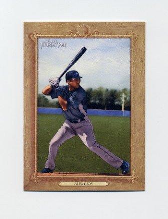 2007 Topps Turkey Red Baseball #155 Alex Rios - Toronto Blue Jays