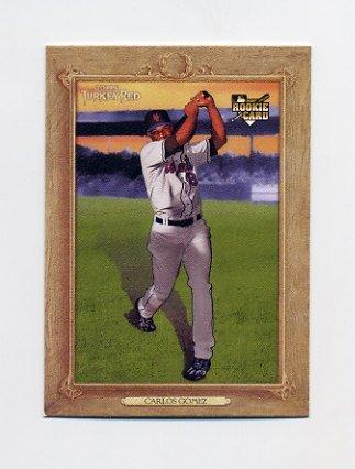 2007 Topps Turkey Red Baseball #093 Carlos Gomez RC - New York Mets
