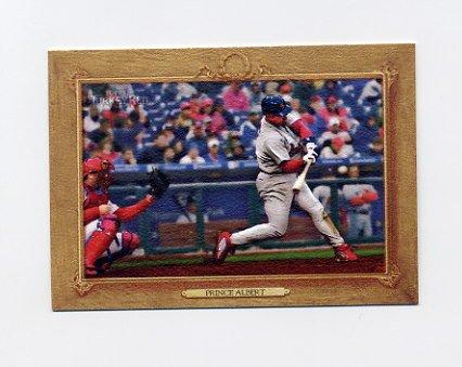 2007 Topps Turkey Red Baseball #048 Prince Albert / Albert Pujols CL - St. Louis Cardinals