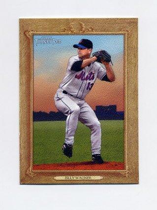 2007 Topps Turkey Red Baseball #046 Billy Wagner - New York Mets