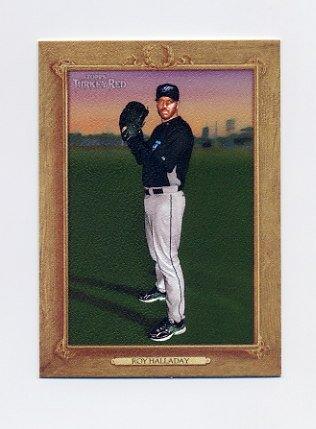 2007 Topps Turkey Red Baseball #027 Roy Halladay - Toronto Blue Jays