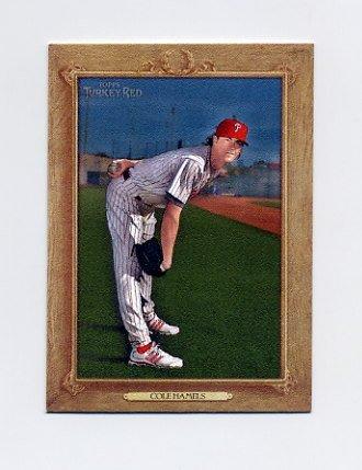 2007 Topps Turkey Red Baseball #005 Cole Hamels - Philadelphia Phillies