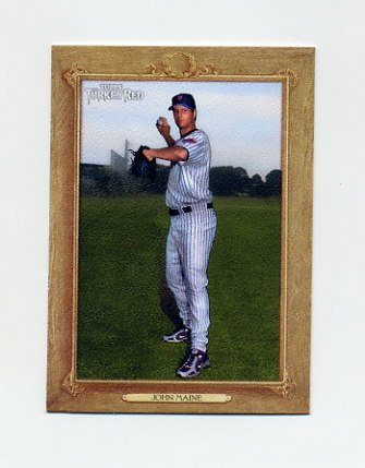 2007 Topps Turkey Red Baseball #004 John Maine - New York Mets