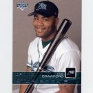 2003 Upper Deck Baseball #030 Carl Crawford SR - Tampa Bay Devil Rays