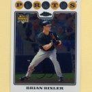 2008 Topps Chrome Baseball #216 Brian Bixler RC - Pittsburgh Pirates