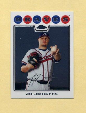2008 Topps Chrome Baseball #178 Jo-Jo Reyes - Atlanta Braves