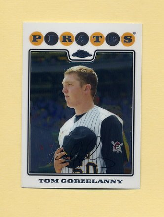 2008 Topps Chrome Baseball #127 Tom Gorzelanny - Pittsburgh Pirates
