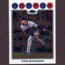 2008 Topps Chrome Baseball #037 Tim Hudson - Atlanta Braves