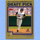 2004 Topps Baseball Gold #670 Carlos Quentin RC - Arizona Diamondbacks 0480/2004