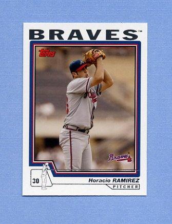 2004 Topps Baseball #431 Horacio Ramirez - Atlanta Braves