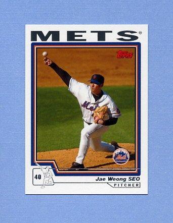 2004 Topps Baseball #417 Jae Weong Seo - New York Mets