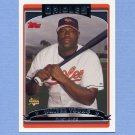 2006 Topps Baseball #307 Walter Young RC - Baltimore Orioles