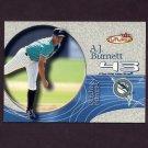 2001 Fleer Futures Baseball #202 A.J. Burnett BF - Florida Marlins