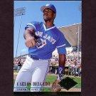 1994 Ultra Baseball #437 Carlos Delgado - Toronto Blue Jays