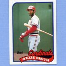 1989 Topps Baseball #230 Ozzie Smith - St. Louis Cardinals