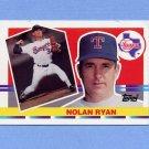 1990 Topps Big Baseball #171 Nolan Ryan - Texas Rangers
