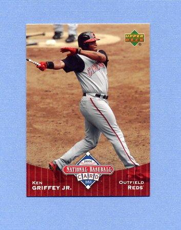 2006 Upper Deck National Baseball Card Day Baseball #UD7 Ken Griffey Jr. - Cincinnati Reds