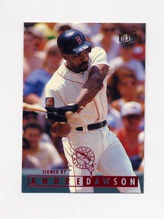 1995 Ultra Baseball #262 Andre Dawson - Florida Marlins