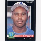 1992 Pinnacle Baseball #296 Cliff Floyd RC - Montreal Expos