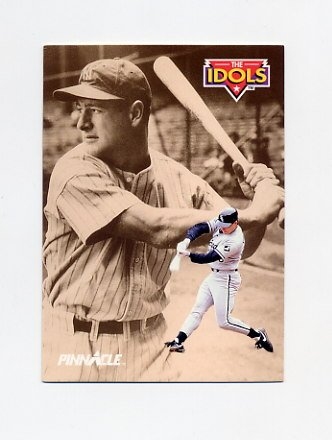 1992 Pinnacle Baseball #286 Robin Ventura / Lou Gehrig