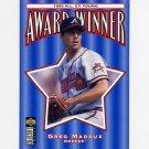 1996 Collector's Choice Baseball #709 Greg Maddux CY - Atlanta Braves