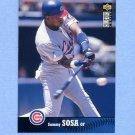 1997 Collector's Choice Baseball #065 Sammy Sosa - Chicago Cubs