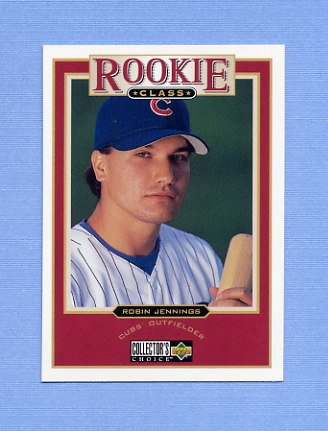 1997 Collector's Choice Baseball #022 Robin Jennings - Chicago Cubs