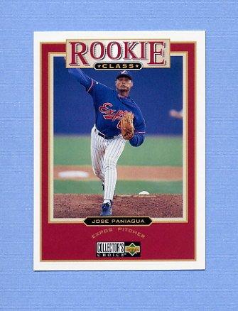 1997 Collector's Choice Baseball #019 Jose Paniagua - Montreal Expos