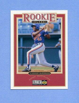 1997 Collector's Choice Baseball #010 Vladimir Guerrero - Montreal Expos