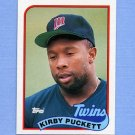 1989 Topps Baseball #650 Kirby Puckett - Minnesota Twins