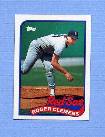 1989 Topps Baseball #450 Roger Clemens - Boston Red Sox NM-M