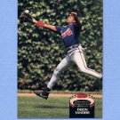 1992 Stadium Club Baseball #015 Deion Sanders - Atlanta Braves