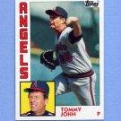 1984 Topps Baseball #415 Tommy John - California Angels